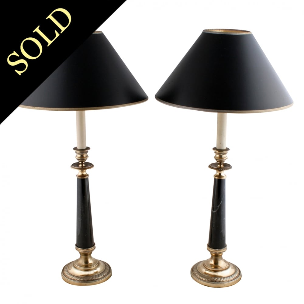 Antique style table lamps french empire style lamps pair of empire style table lamps aloadofball Gallery