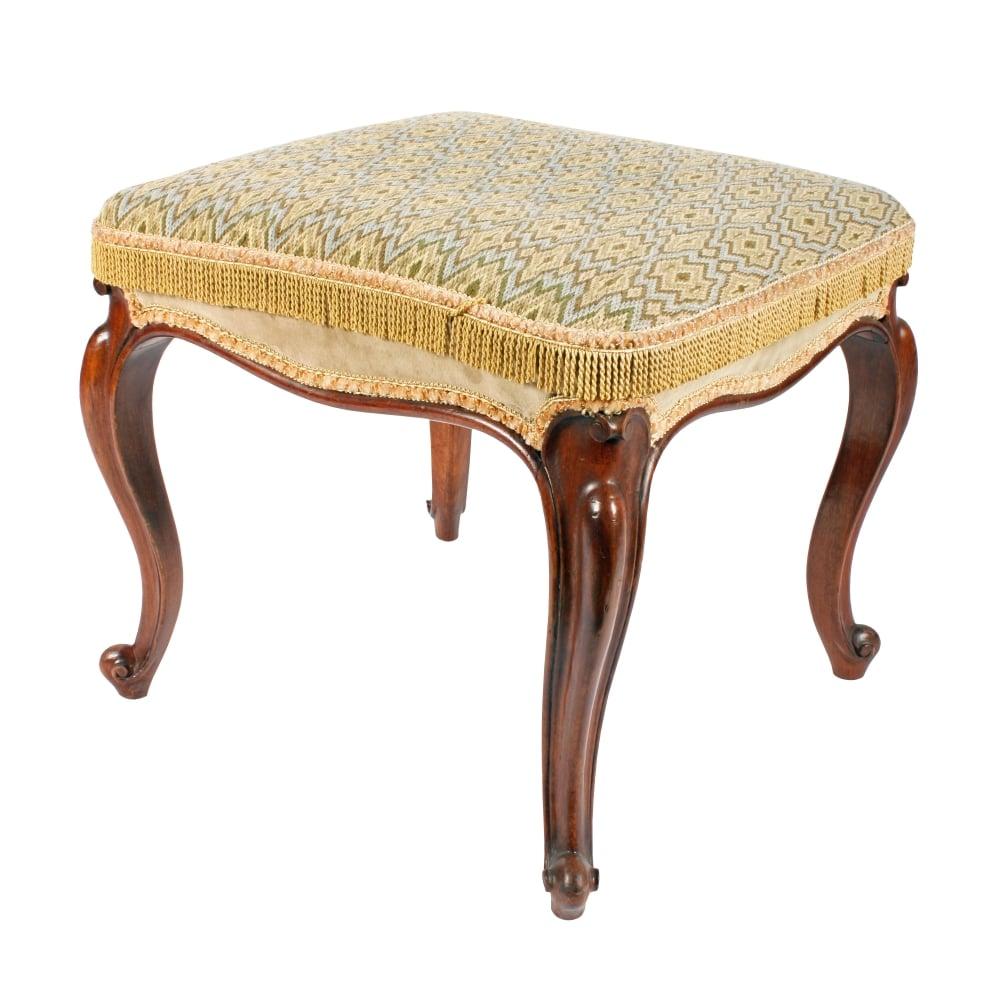Antique Furniture Antique Mahogany Stool